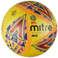 Футбольный мяч Mitre Delta Hyperseam FIFA Quality Pro EFL, 14P, yellow