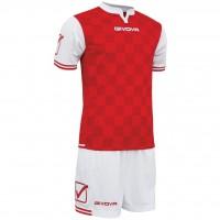 Форма Givova Kit Competition цвет: красно-белый