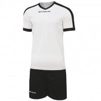 Givova Kit Revolution цвет: бело-черный