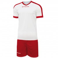 Givova Kit Revolution цвет: бело-красный