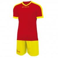 Givova Kit Revolution цвет: красно-желтый