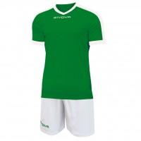 Givova Kit Revolution цвет: зелено-белый