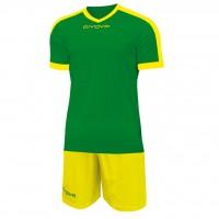 Givova Kit Revolution цвет: зелено-желтый