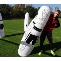 Футбольный манекен надувной, 205 см