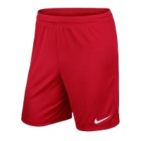 Игровые шорты Nike Short Park II Knit цвет: красный